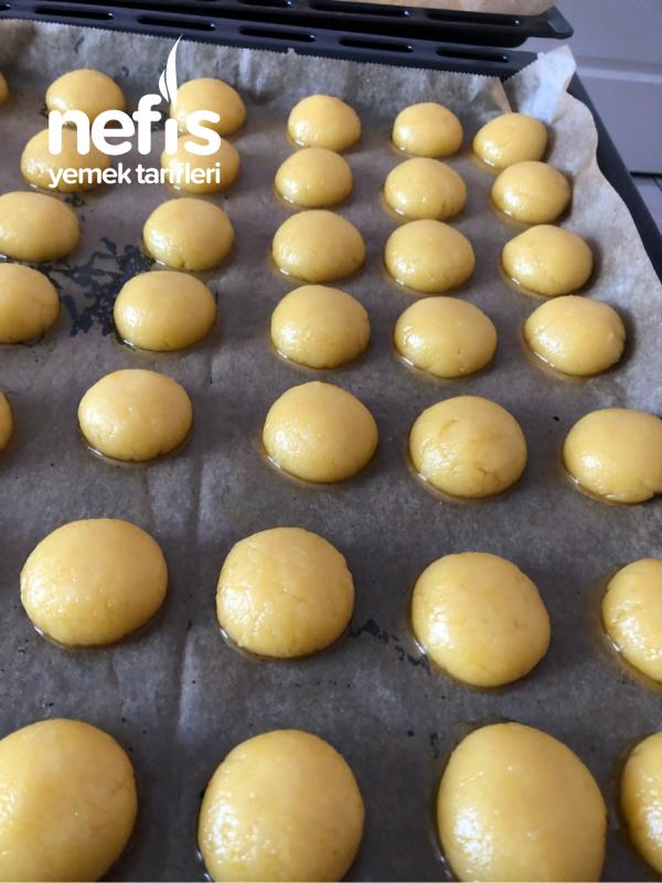 Hindistan Cevizli Kurabiye bayatlamayan kurabiye