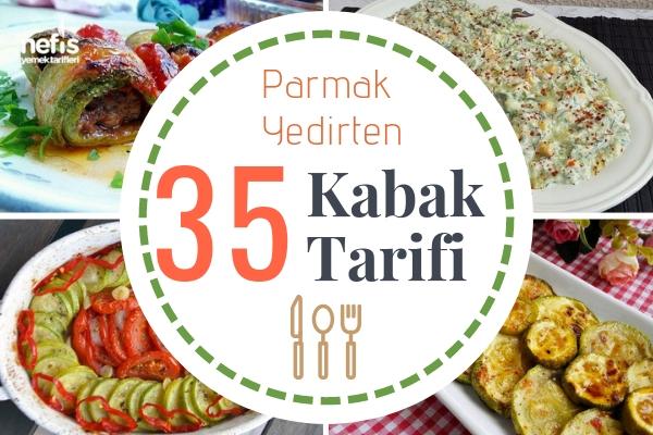 Kabak Yemekleri – Çorbasından Salatasına Her Çeşit 35 Enfes Tarif Tarifi