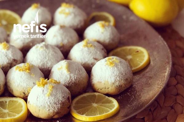 Limonlu Fındıklı Kolay Kurabiye Tarifi