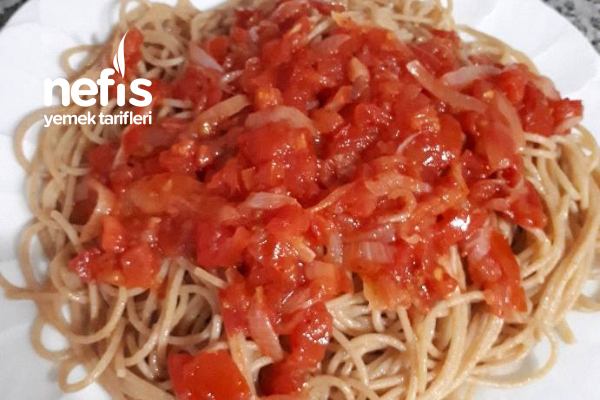 Tam Buğday Spagetti Tarifi
