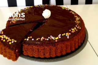 Çikolatalı Tart Kek Tarifi (videolu)
