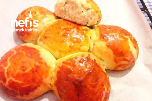 Hamuru Çörekotlu Ekmek Poğaça Tarifi