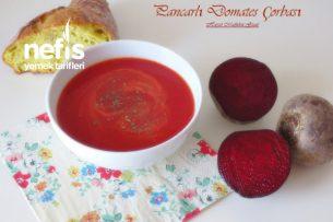 Pancarlı Domates Çorbası Tarifi