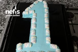1 Yaş Doğum Günü Pastası Tarifi