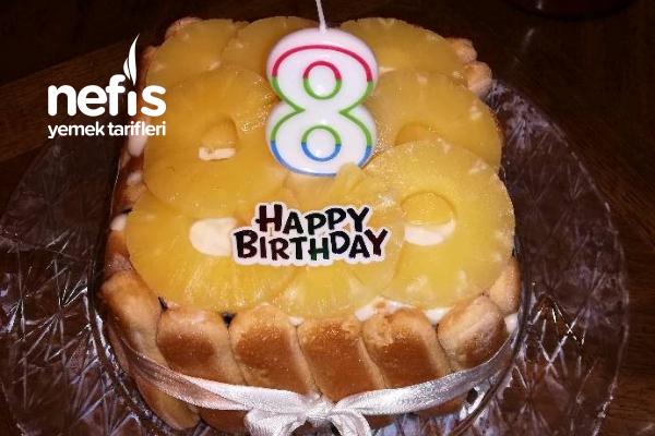 Ananaslı Doğum Günü Pastası Tarifi
