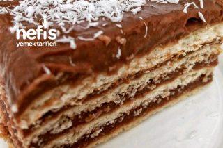 Bisküvi Pastası (Kendi Yaptığım Puding İle) Tarifi
