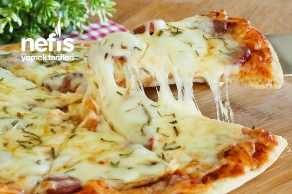 Dondurucu Pizza Nasıl Yapılır? 10 Dakikada Efsane Pizzalar (videolu)