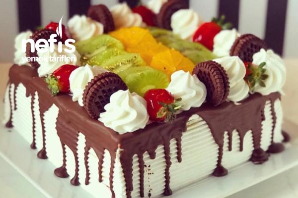 Meyveli Kare Pasta Tarifi