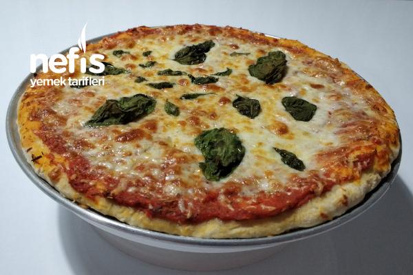 Orijinal Sade Margherıta Pizza Nasıl Yapılır Margherıta (Videolu)