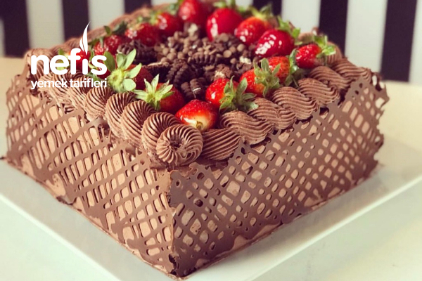 Çikolatalı Dantel Pasta Tarifi