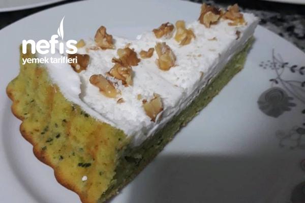 Ispanaklı Tart Kek Tarifi