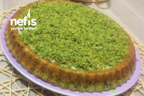 Tart Kalıbında Ispanaklı Pasta Tarifi