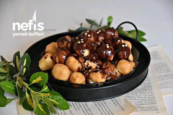 Çikolatalı Lokma ( Yeni Sokak Trendi ) Tarifi