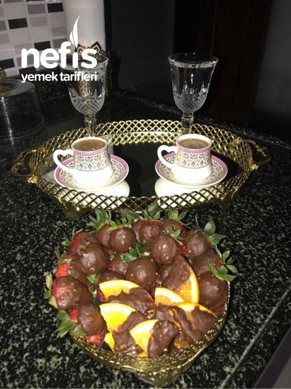 Çikolatalı Meyveler