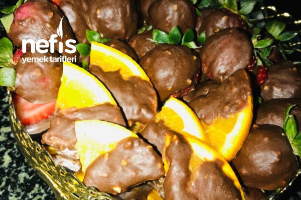 Çikolatalı Meyveler Tarifi