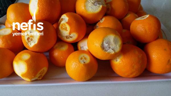Derin Dondurucuda Portakal (limonata Yapmak İçin)