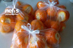 Derin Dondurucuda Portakal (Limonata Yapmak İçin) Tarifi