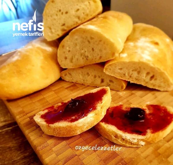 Ev Yapımı Baget Ekmek (mis Gibi)