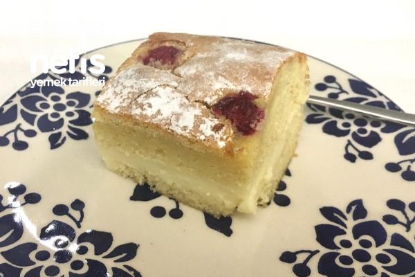 Kremalı Vişneli Kek Tarifi (Kekli Alman Pastası)