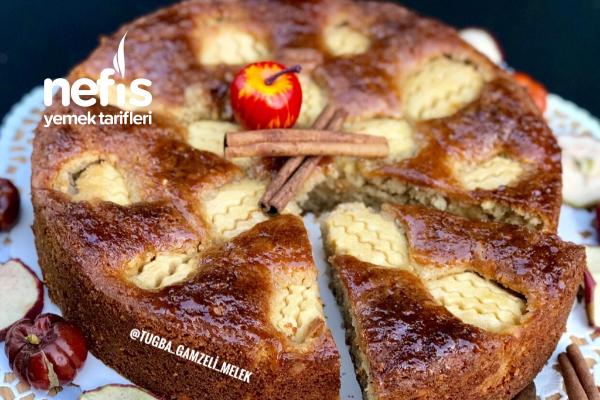 Muhteşem Elmalı Alman Pastası Tarifi