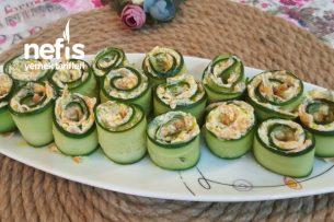 Nefis Salatalık Ruloları Tarifi