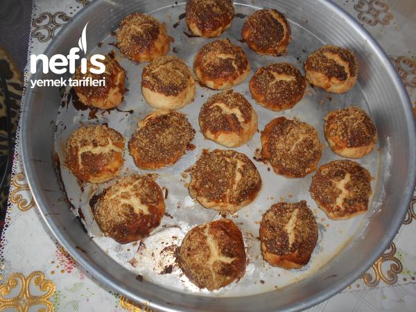 Portakallı Pekmezli Fındıklı Kek Kurabiye
