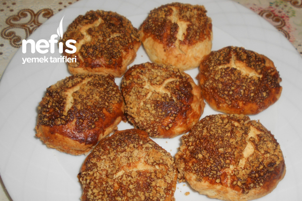 Portakallı Pekmezli Fındıklı Kek Kurabiye Tarifi