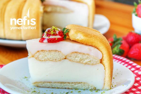 Hem Basit Hem Gösterişli- Kral Tacı Pastası Tarifi (videolu)
