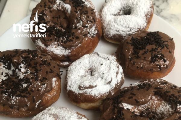 Homemade Donut Tarifi