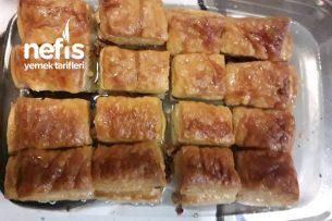 Milföy Hamurundan Baklava Tatlısı Tarifi