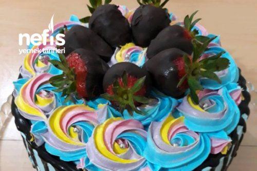 Renkli Yas Pasta Nefis Yemek Tarifleri 5741162