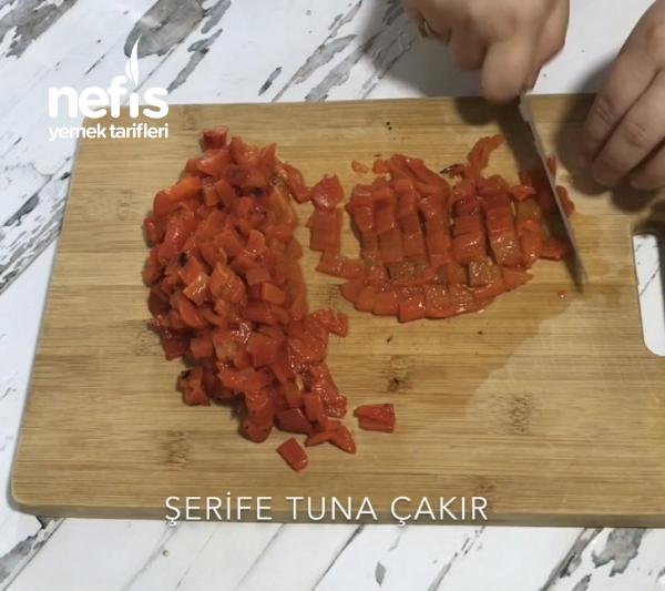Köz Biberli Semizotu Salatası (videolu)