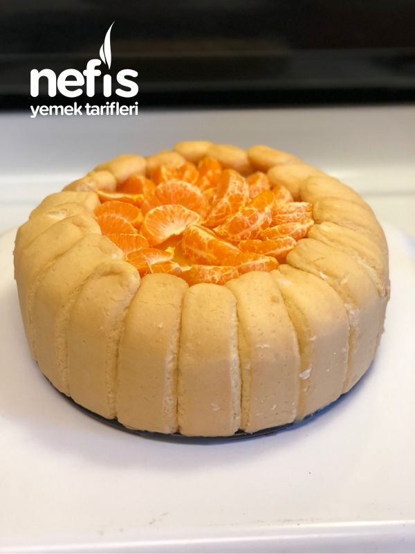 Kral Tacı Pastası (mandalinalı)