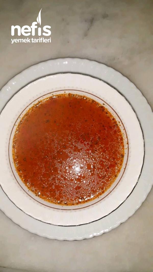 Lezzetli Şehriye Çorbası