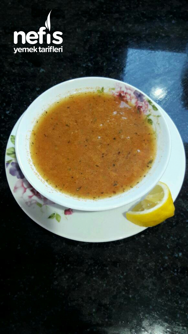 Nefis Mercimek Çorbası