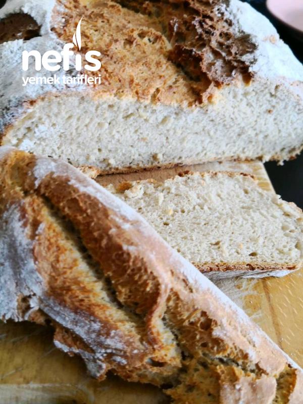 Yulaf Unlu Ev Yapımı Ekmek