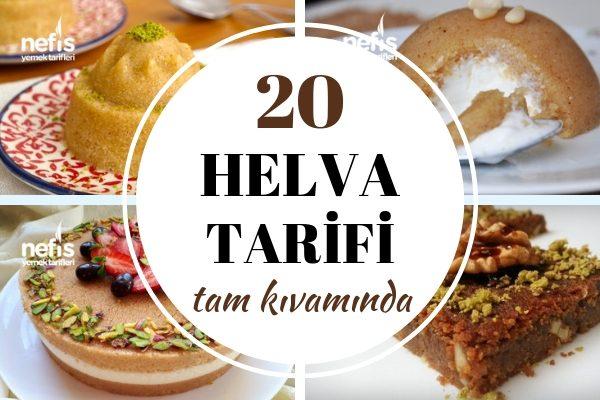 Helva Tarifleri: Tam Kıvamında 20 Lezzet Tarifi