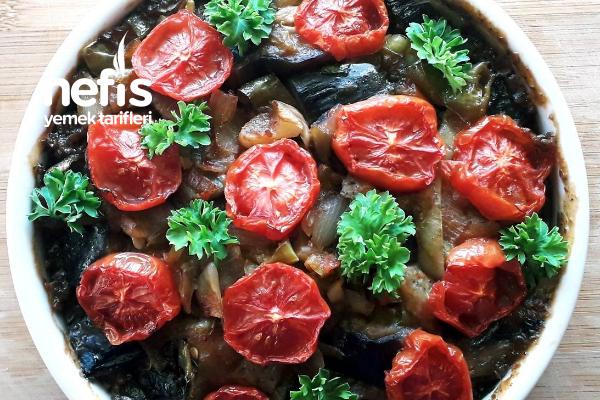 Fesleğenli Patlıcan Tarifi