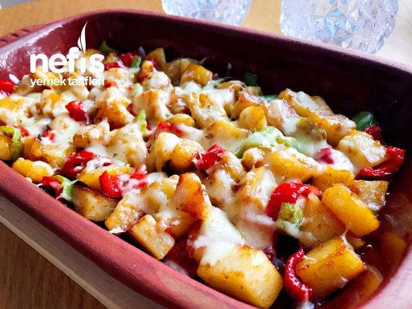 Kahvaltılık Kaşarlı Patates Tarifi (favoriniz Olacak)