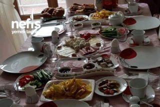 Misafirlerime Sabah Kahvaltısı Tarifi