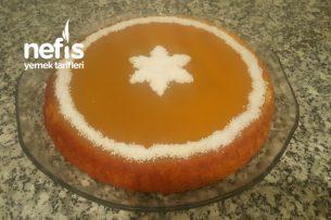 Portakallı Tart Kek Tarifi