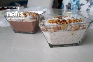 Sütlü Yulaf Lapası (Alternatif Nefis Kahvaltı) Tarifi