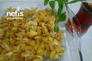 Yumurtalı Patates Kavurma Tarifi