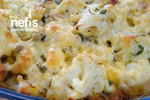 Baharatlı Ve Kaşar Peynirli Karnabahar Tarifi