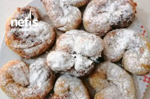 Çıtır Çıtır Tahin Helvalı El Açması Çörek Tarifi