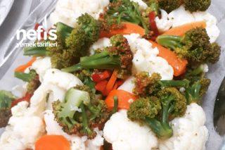 Karnabahar Brokoli Salatası Tarifi