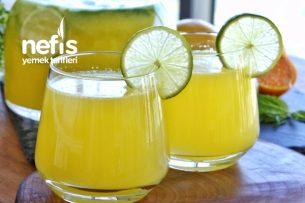 3 Meyveden 3 Litre Portakallı Limonata Tarifi (videolu)