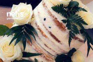 Limonlu Yaban Mersinli Yaş Pasta Tarifi
