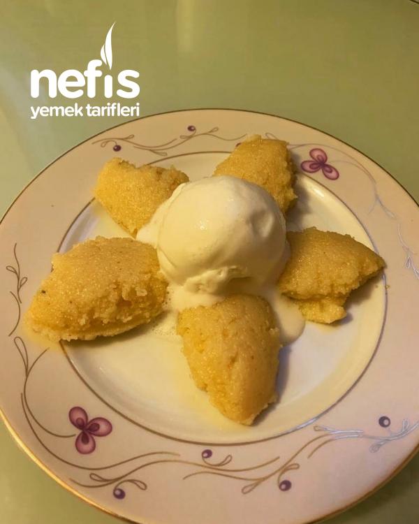 Nefis İrmik Helvası Portakallı Dondurmalı Denemeyen Kalmasın!