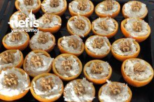 Portakal Kabuğunda Yoğurtlu Kereviz Tarifi